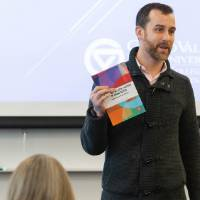 Jeremiah Cataldo, associate professor of history, honors college, shares about his book.